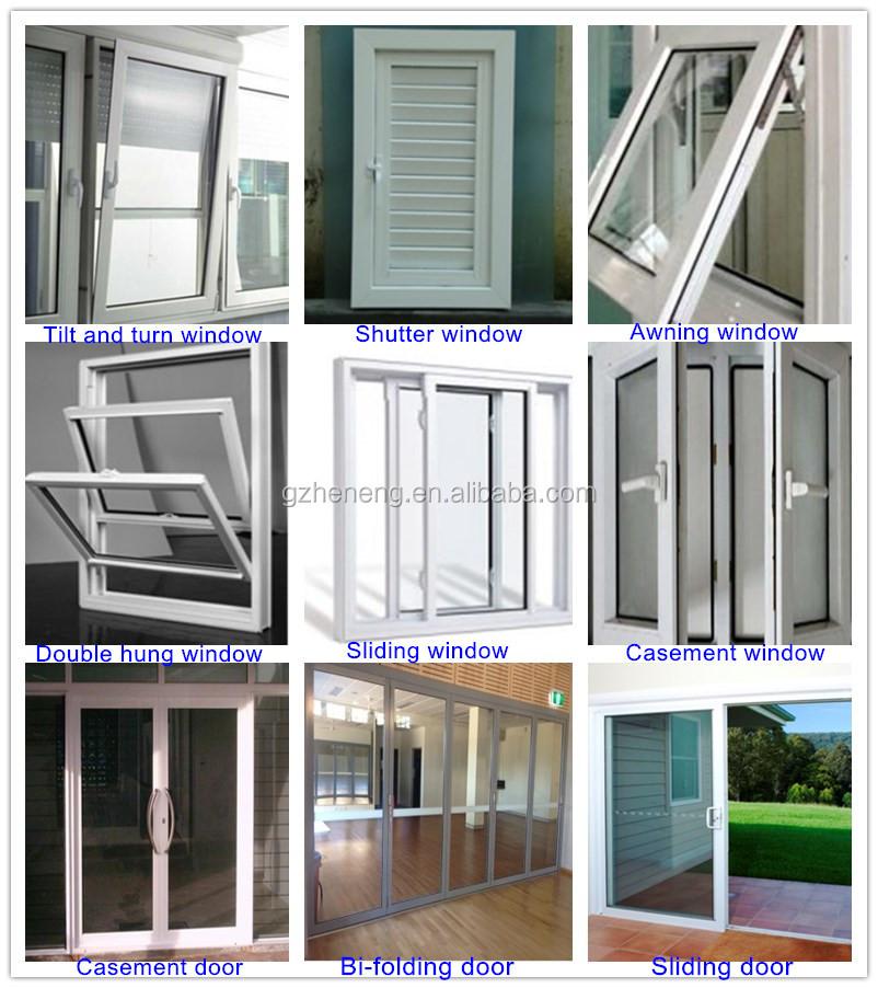 Color De Madera Puerta Corredera/aluminio Enmarcado Puertas ...