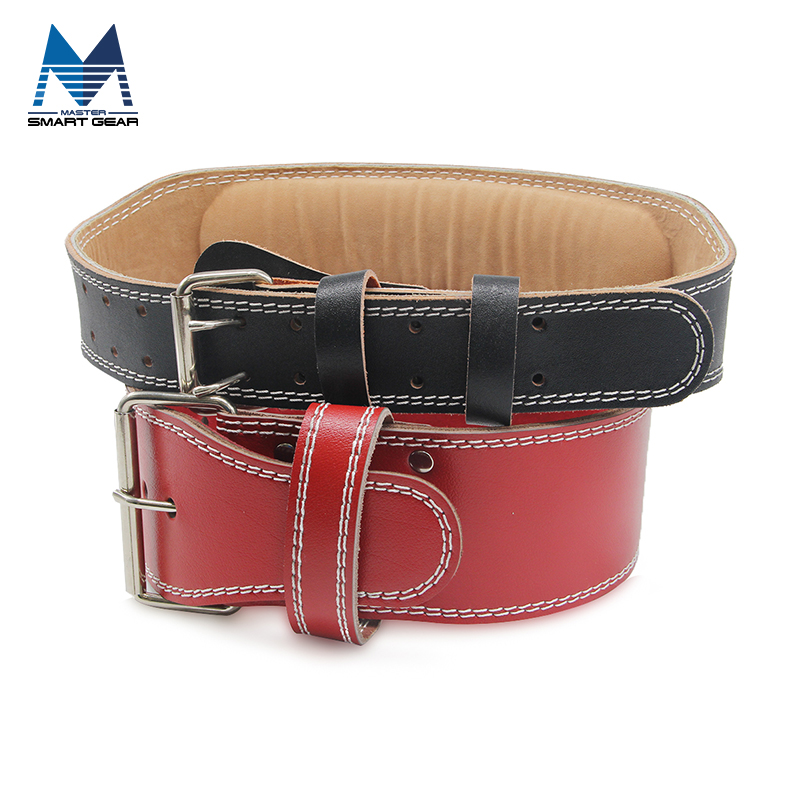 Leather Weight Lifting Lever Belt