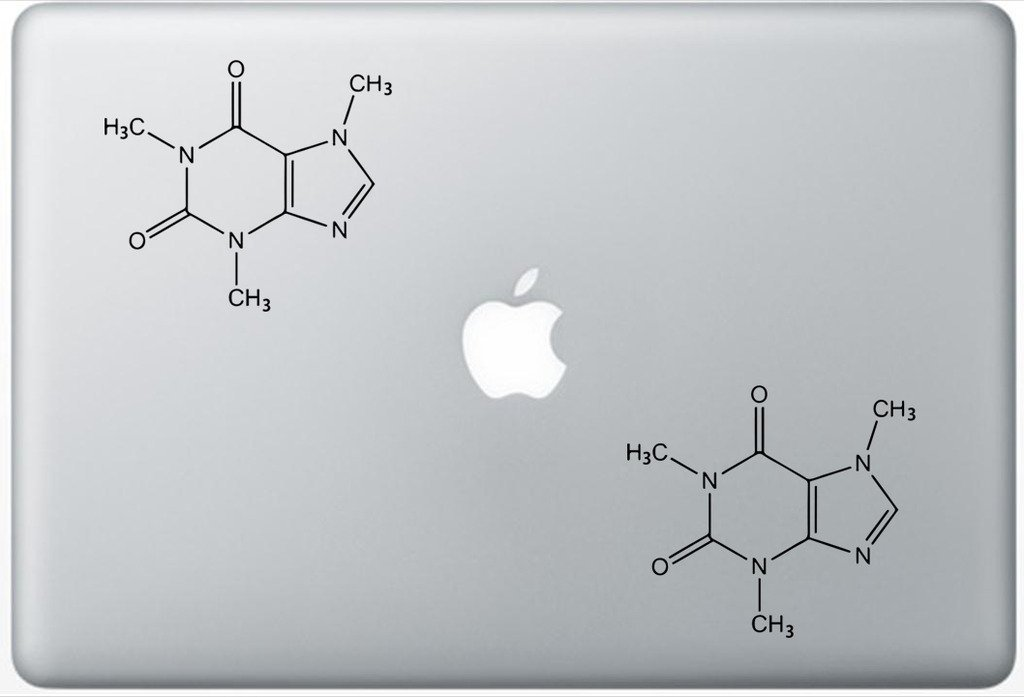 Illustrated Glossary Of Organic Chemistry FlashDecals2896 Set Of Two (2x) , Decal , Sticker , Laptop , Ipad , Car , Truck