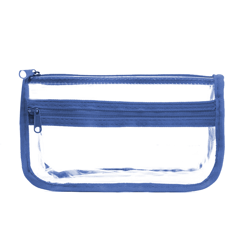 Promotional Pencil Bag Transparent Students See though PVC Clear Pen Pouch