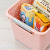 Multi-purpose Rattan Rectangle Plastic sundries Storage Basket