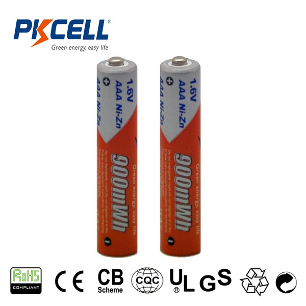 Rechargeable Battery NiZn 1.6V AAA Size Batteries Supplied By Shenzhen Pkcell
