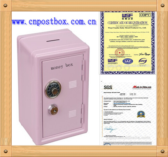easy to use money saving box with different colors