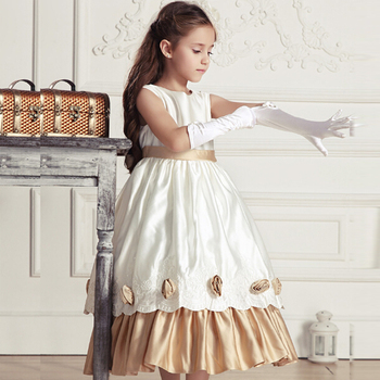 8fe1c0b1e0 wholesale price flower girl net dress long maxi dress design kids long  chiffon party dress