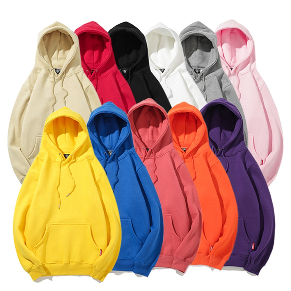 Men's <strong>Hoodies</strong> 2019 Hooded Pullover Fashion Basic Sweatshirt Fleece Hoodie Blank