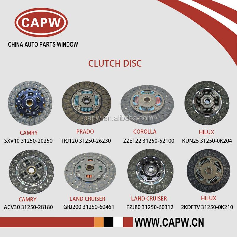 Wholesale Price Toyota Clutch Disc / Clutch Plate For Camry/prado ...