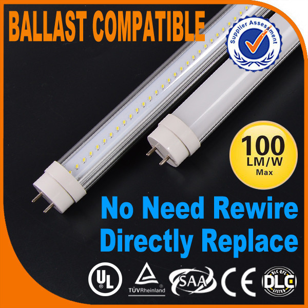 Ballast compatible Isolated driver UL DLC USA America fluorescent tube bracket