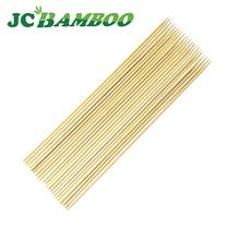 bamboo skewers barbecue sticks with round ,flat,square,flag paddle body for bbq and food pick