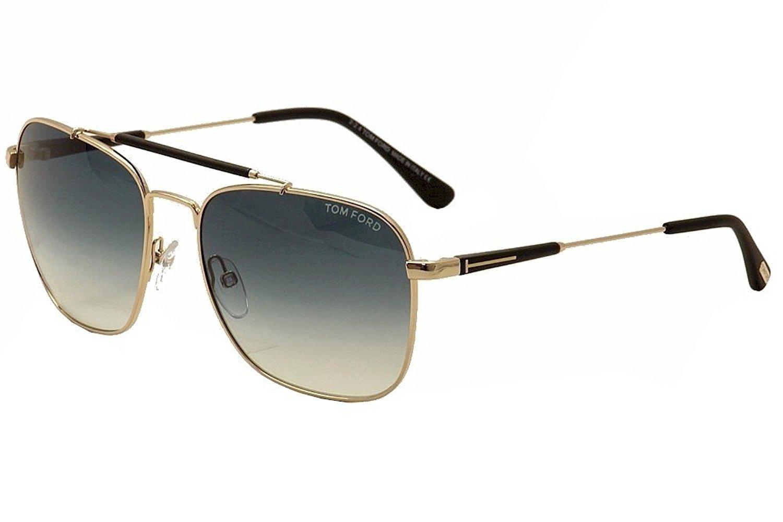 Tom Ford FT0377/S 28W Edward Rose Gold Aviator Sunglasses