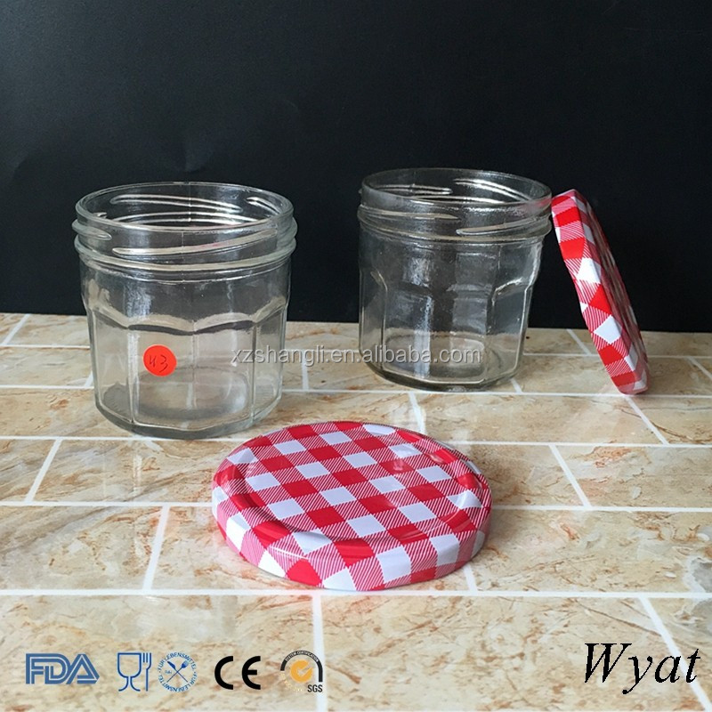 Cheap Wide Mouth 100ml 200ml 500ml Glass Food Container Jars