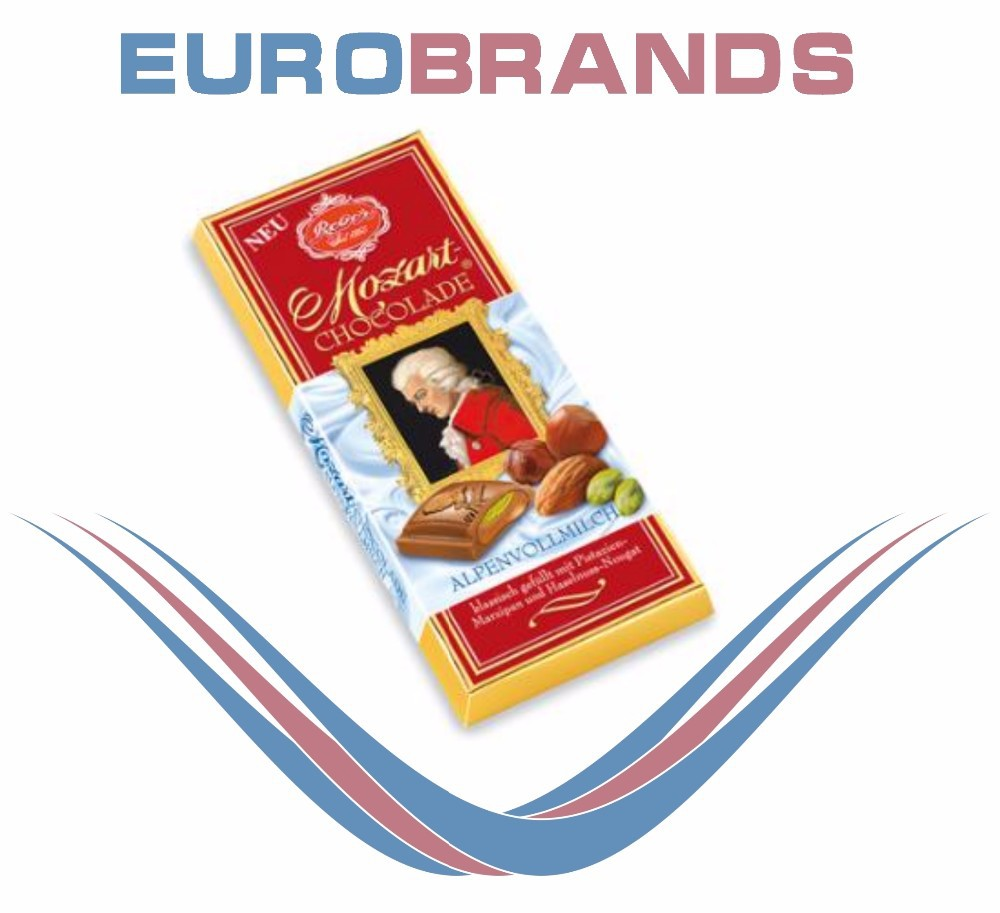 Reber Mozart Classic Milk Chocolate Bar