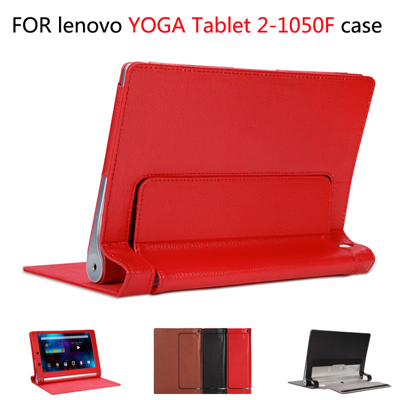 on sale 60df7 3ed55 Good quality leather stand case cover For Lenovo YOGA Tablet 2-1050F ...