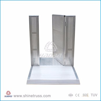 Live Event Crowd Control Barrier Factory Supply Safety Barrier Expandable Door Barrier