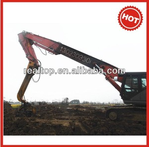 Low Price excavator pile driver& hammer China sellers nissha ( for U piles, H piles...._