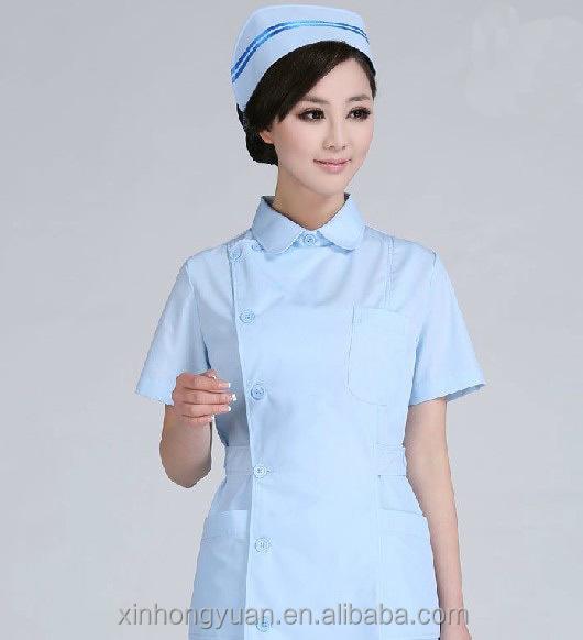 White Nursing Uniform 53