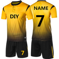 OEM&ODM Men's Custom Made Design Your Own Personalized Soccer Wear Jersey Set, Soccer Jersey Uniform