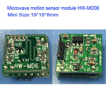 19 18mm 3 3v Output Doppler Microwave Motion Detecting Sensor Module Hw Md6