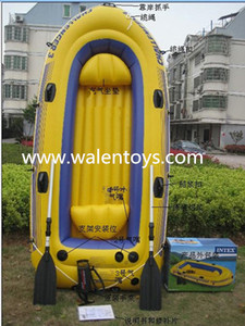Two preson inflatable boats drifting fishing boat PVC air kayak outdoor sports rowing boats
