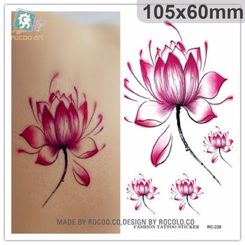 Rc228fashion hot chinese temporary lotus flower tattoo sticker rc228fashion hot chinese temporary lotus flower tattoo sticker mightylinksfo