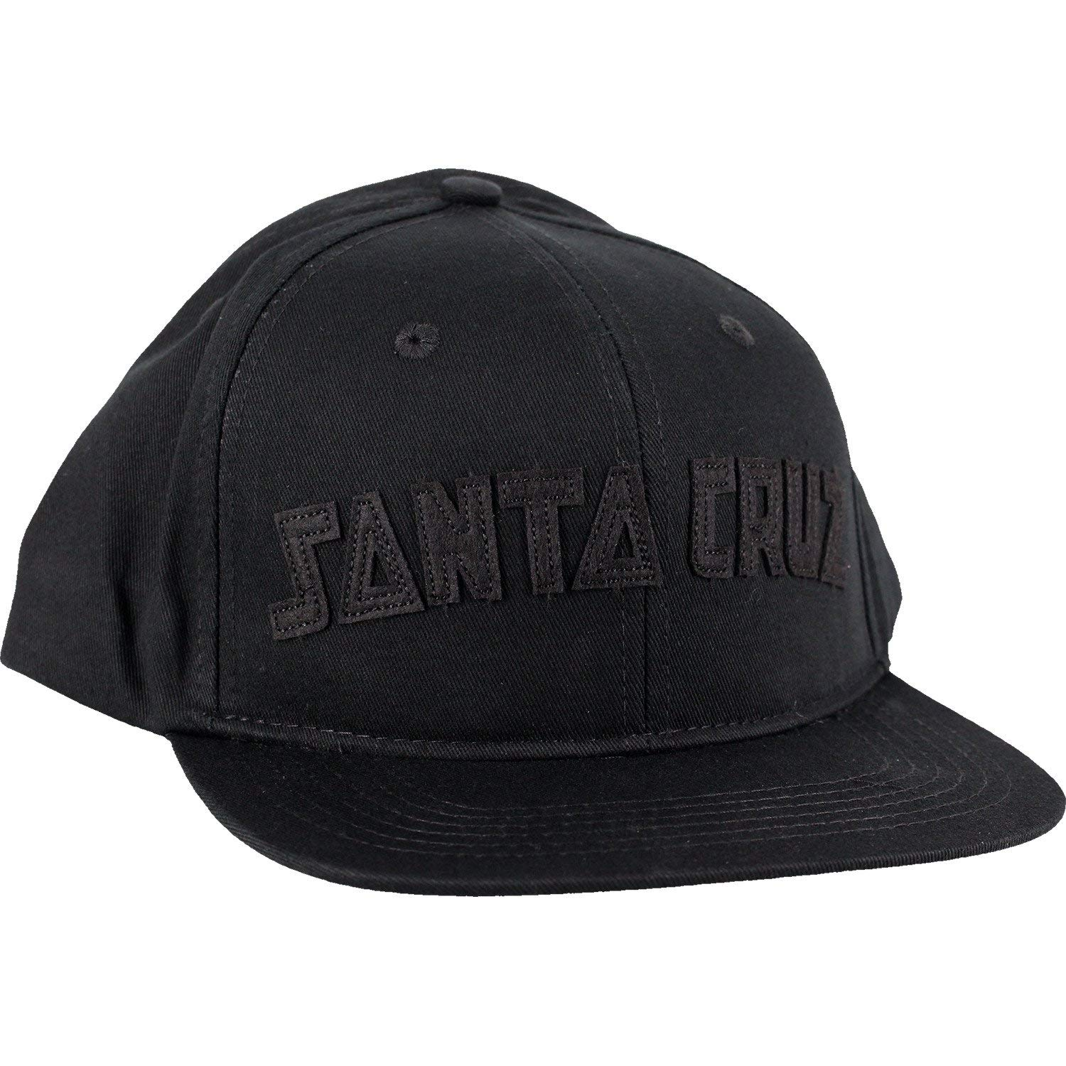 cb3f10f735016 Santa Cruz Skateboards Arch Strip Black Snapback Hat - Adjustable