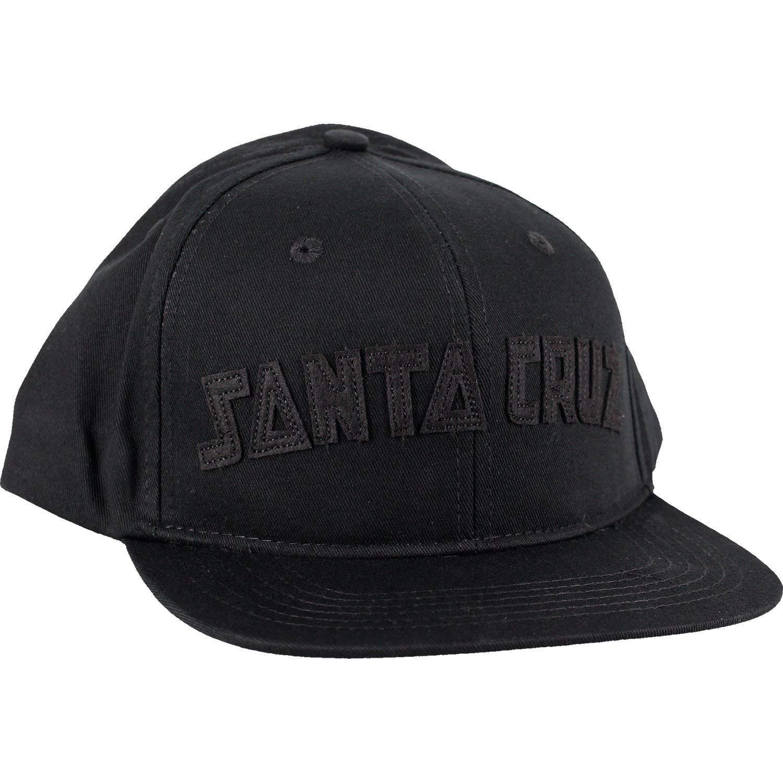 Santa Cruz Skateboards Arch Strip Black Snapback Hat - Adjustable f085859b7