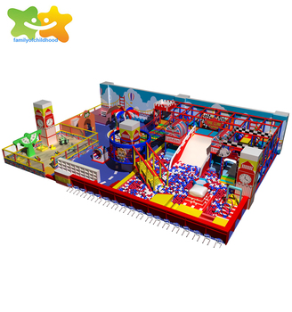 Colorful British style digital kids playground indoor toys used equipment