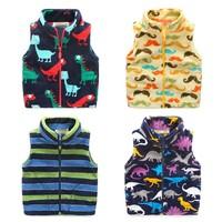 Frock Designer Children Boys Clothing Polar Fleece Pattern Vest Of Online Shopping