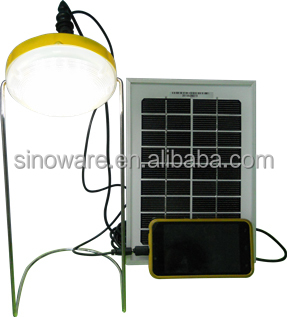 China hot selling portable led solar lantern with rechargable batteries and USB port for mobile cell phone charger