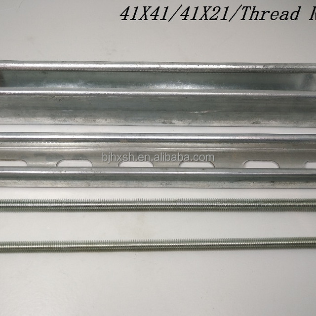 Cold bending steel american standard strut channel prices