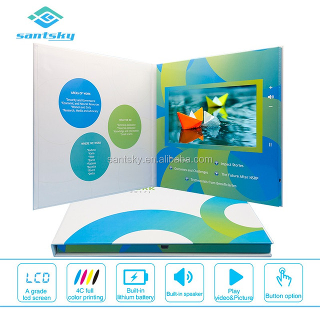 Buy cheap china wholesale supply company products find china top 3 greeting card company supply lcd greeting cards wholesale video mailers m4hsunfo