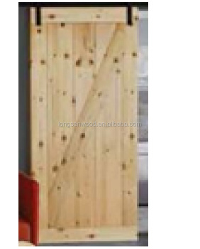 Knotty Pine Barn Door