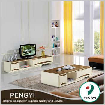 Foshan Living Room Furniture Set Modern Led Tv Stand Furniture