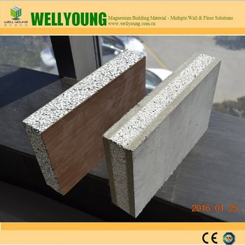 2016 new type tongue and groove fire retardant concrete for Concrete foam insulation
