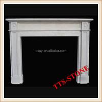 Foam fireplace mantel