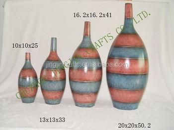 Hand Painted Ceramic Vase/hand Painted Modern Ceramic Flower Vase ...