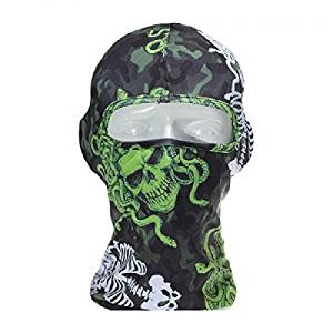 433c247877d 3D Printed Skull Skeleton Mask Outdoor Sports Bike Cycling Motorcycle  Facekini Ski Balaclava Mask UV Protective
