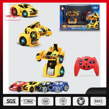 Loongon trans robot toy car