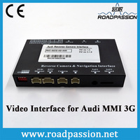 Car Retrofit add Rear Camera DVD TV Video Interface for Audi MMI 3G