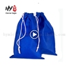 Security non-woven coated bag, cute laptop backpack, foldable non woven shoping bag