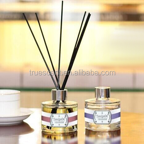 100ml Round Glass Bottle Fragrance Oil Reed Diffuser Fiber Stick TS-RD168A