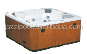 JAZZI Hot sale Balboa system Massage 6 person outdoor jacuzzy spa prices SKT328