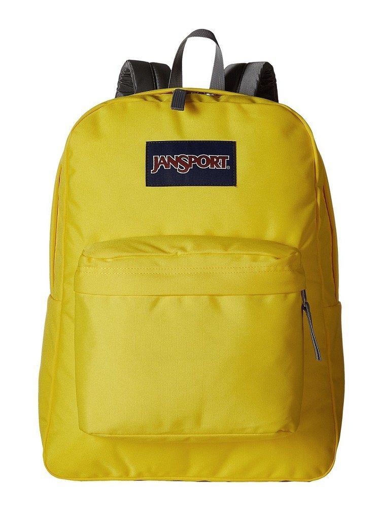 c858ad9af1fc Get Quotations · JanSport Superbreak Backpack (Yellow Card)