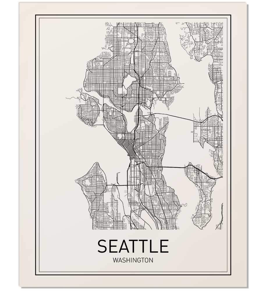Cheap where is seattle washington on the map, find where is ...