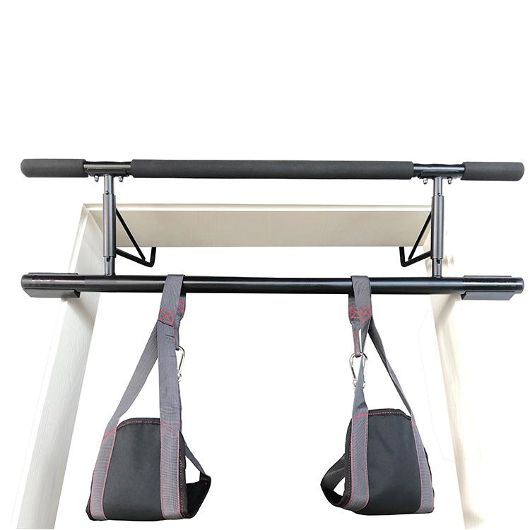 Aangepaste Opknoping Abdominale Slings Taille Vormgeven en Buikspier Fitness Grijs AB Bandjes