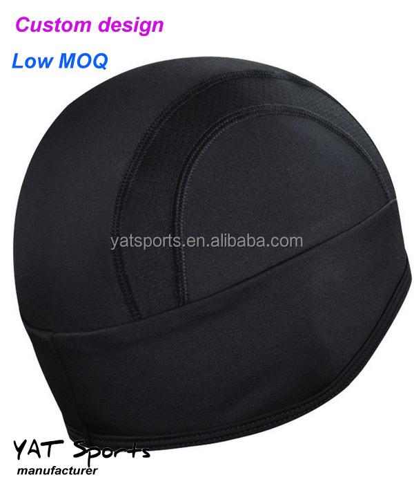5224a0dd4e4b7 Faible MOQ tissu Polaire Hiver Personnalisé plaine cyclisme casquette de  crâne
