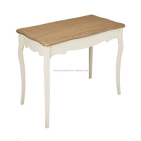 Marseilles Home Goods Furniture Durable White Wooden Dining Table