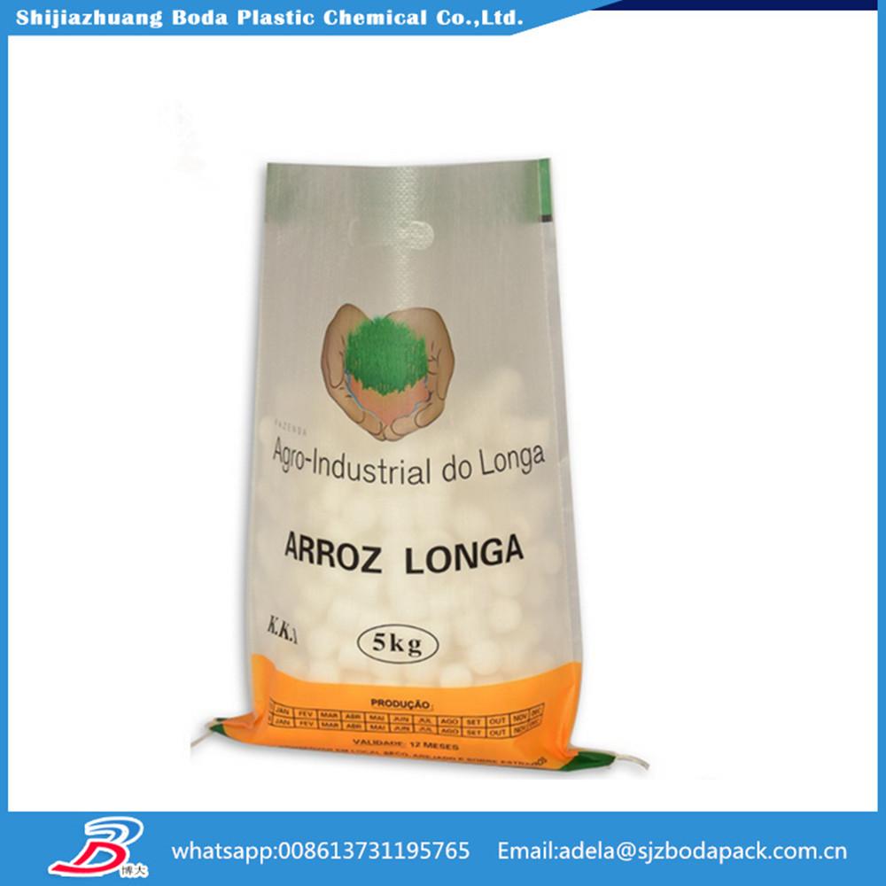 50kg Pp Food Bag For Wheat Flour Rice Grain Salt Sugar Etc