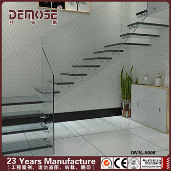 Modern Residential Curve Stairs