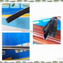 Chinese excellent PP material weather strip seal brush DJ557