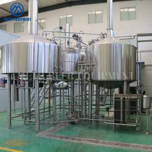 Sight glass brewing 2000l 4 vessels brewhouse brewing equipment with high configuration